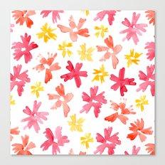 Sunny Florals Canvas Print