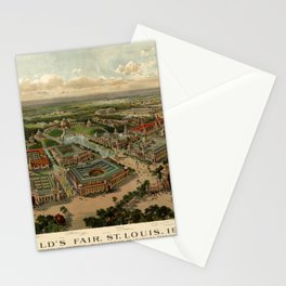 St. Louis Worlds Fair 1904 Stationery Cards