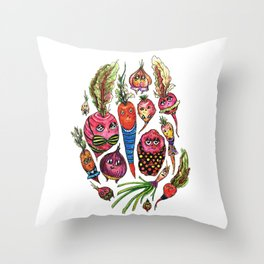 Roots in Suits Throw Pillow