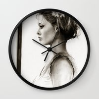 tyler the creator Wall Clocks featuring Creator by Isaiah K. Stephens