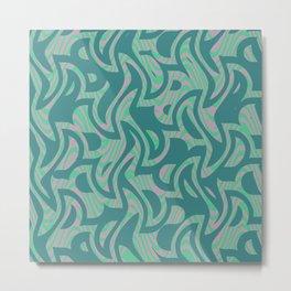Abstract 123 H Metal Print