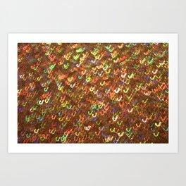 Glitter 7390 Art Print