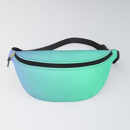Periwinkle Mint Ombre Blast Fanny Pack