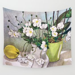 The quince Wall Tapestry