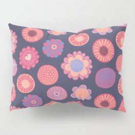 Colorful bloom Pillow Sham