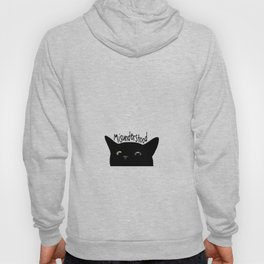 Black Cat Misunderstood Hoody