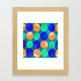 Circle of Colors 2 Framed Art Print