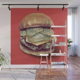 Burgertime! Wall Mural