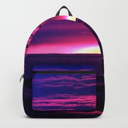 Incredible Sunset by the Sea Backpack