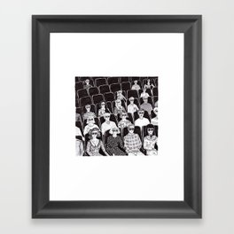 The movies Framed Art Print