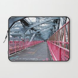 Across the Williamsburg Bridge Laptop Sleeve