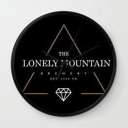Lonely Mountain Brewery Wall Clock