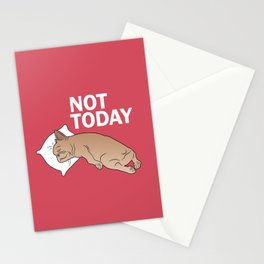 Lazy Frenchie Stationery Cards