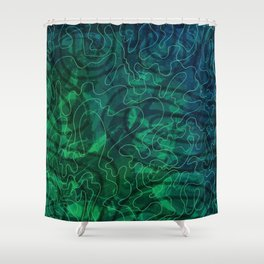 Hongoland-Holiday pattern Shower Curtain
