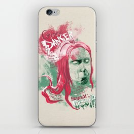 """Iggy Pop """"Gimme Danger"""" - The Punk Loons. iPhone Skin"""