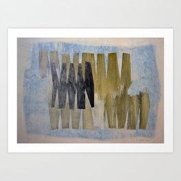 The Interruption Art Print