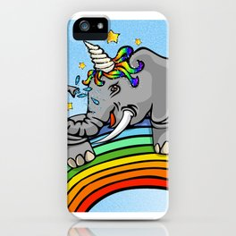 Magical Uniphant! iPhone Case