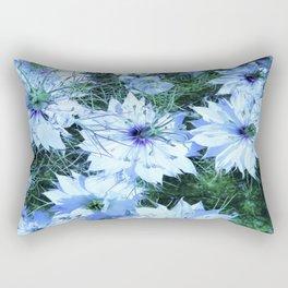 black cumin flowers Rectangular Pillow
