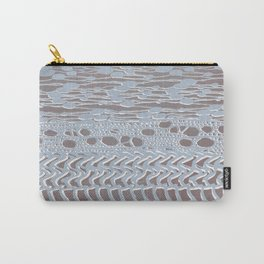 knit patchwork in pale mood Carry-All Pouch
