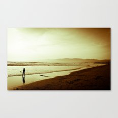 Sharing the Tide Canvas Print