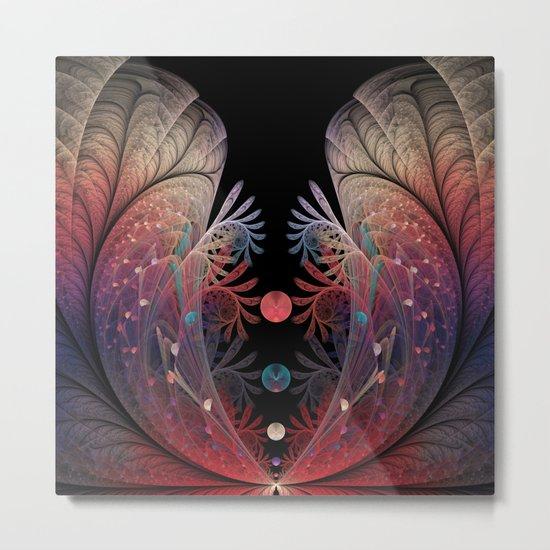 Abstract Fractal Art, Juggling Metal Print