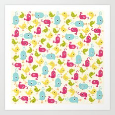 Sweet Tweets Art Print