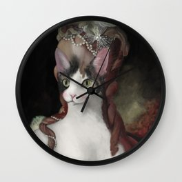 Marie Cationette Wall Clock