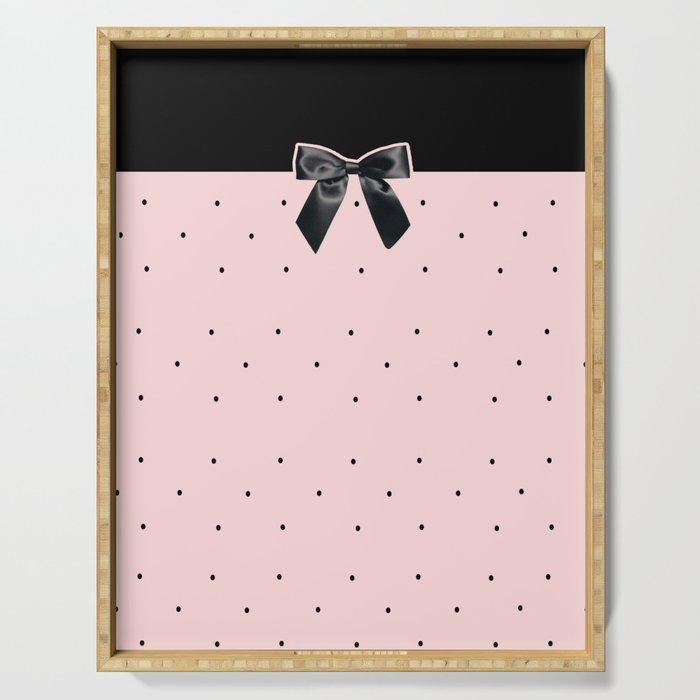 Black Tie Affair: Pink Serving Tray