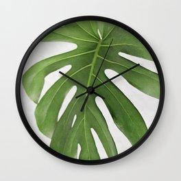 MONSTERA 3 Wall Clock