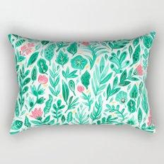 June Blooms Rectangular Pillow