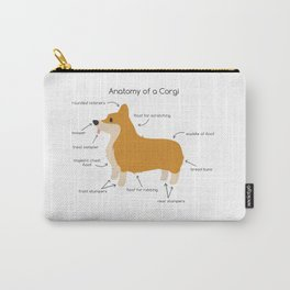 Anatomy of a Corgi Carry-All Pouch