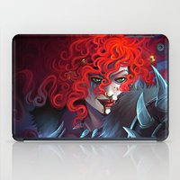 diablo iPad Cases featuring Diablo 3 : Female Barbarian by isangelous