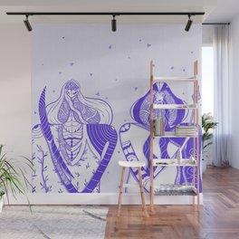 Goddesses of the Garden Table Wall Mural