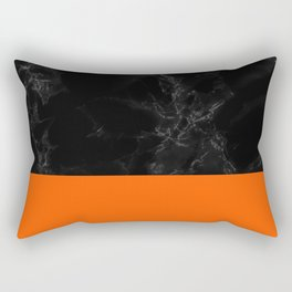 Halloween Marble Rectangular Pillow
