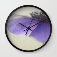 poetry Wall Clocks featuring Poetry by Angela Fanton