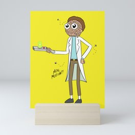 Rick Mashup Mini Art Print