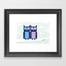 What a hoot! Framed Art Print
