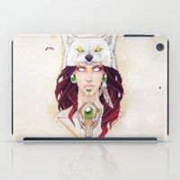 mononoke iPad Cases featuring Mononoke by Electricalivia