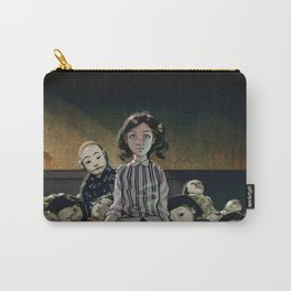 Japanese Dolls Carry-All Pouch