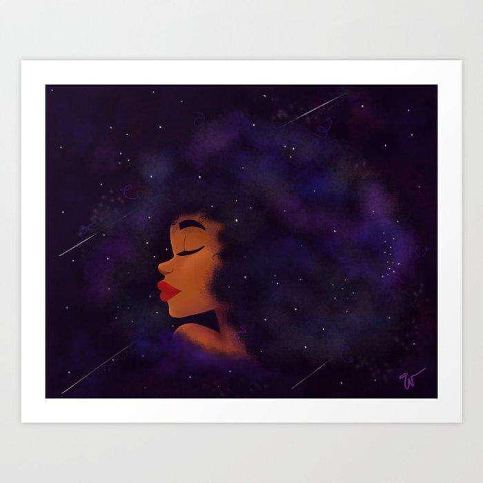 Universe Made Art Print