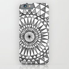 Doily in B&W iPhone 6s Slim Case