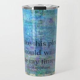 Shakespeare humorous quote Travel Mug