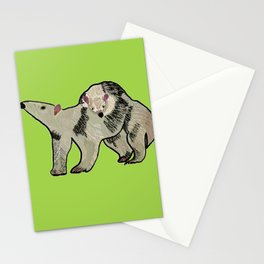 Mother and son anteater Stationery Cards