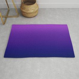 Bright Violet Ombre Rug