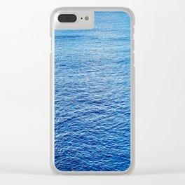 Peaceful Ocean III Clear iPhone Case