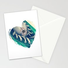 Converse Love in White Stationery Cards