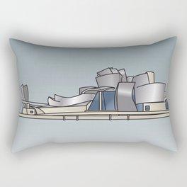 Guggenheim Museum of Bilbao Rectangular Pillow