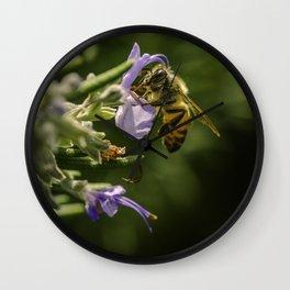 Bee at work Wall Clock