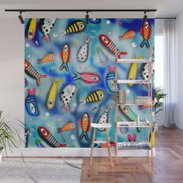 Fishes Ocean current Wall Mural
