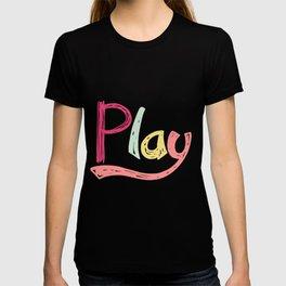 Play Nursery Art T-shirt